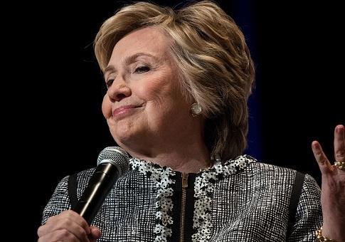 Artist Put Unused Clinton Confetti In Giant Snow Globe Hillary