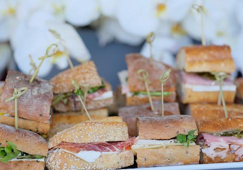 fancy sandwiches