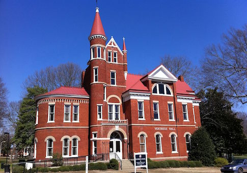 Ventress Hall at the University of Mississippi