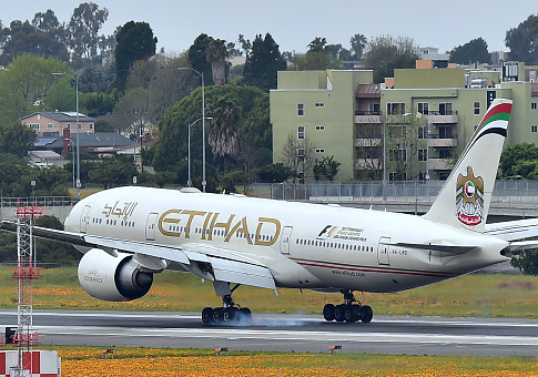 Etihad Airways airplane