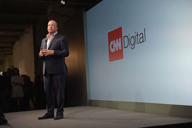 President of CNN Worldwide Jeff Zucker
