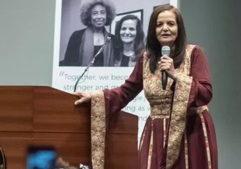 Convicted terrorist Rasmea Odeh / Twitter
