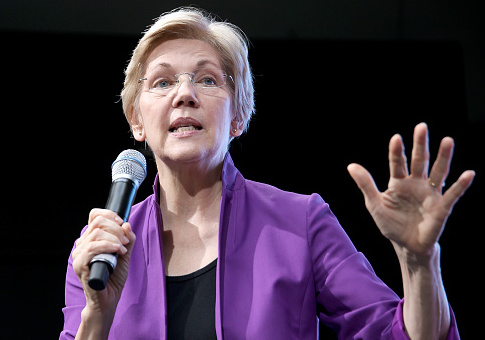 Warren Fundraises Off Alleged Story of Kavanaugh Accuser