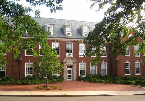Braker Hall at Tufts University