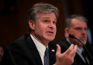 Director of the Federal Bureau of Investigation Christopher WrayDirector of the Federal Bureau of Investigation Christopher Wray