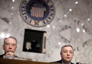 Sen. Chuck Grassley (R-IA) (L) and Sen. Richard Durbin (D-IL) / Getty Images