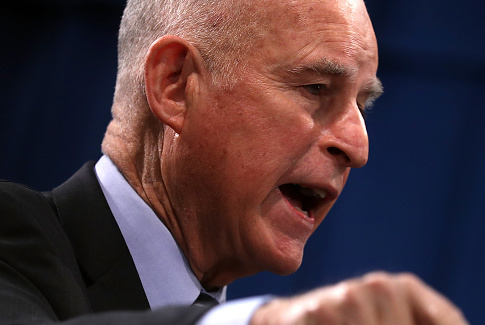 California Gov. Jerry Brown / Getty Images