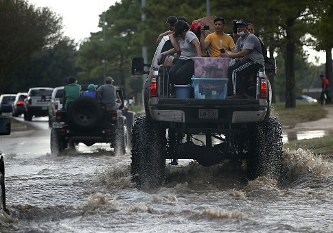 Recovery efforts underway in Texas following Hurricane Harvey / Getty Images