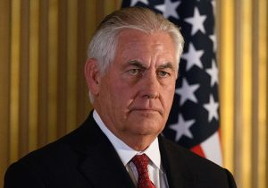 Secretary of State Rex Tillerson / Getty Images