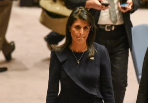 Ambassador to the UN Nikki Haley
