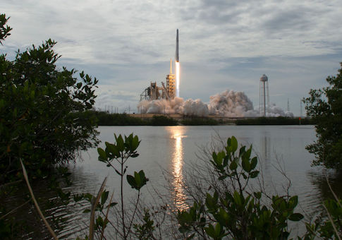 SpaceX Falcon 9 rocket is launched