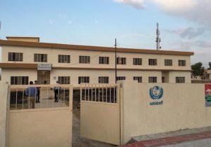 Exterior, Girls School Teleskov, UN Rehab project