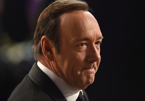 Actor Kevin Spacey attends The 22nd Annual Screen Actors Guild Awards at The Shrine Auditorium on January 30, 2016 in Los Angeles, California. / Getty Images