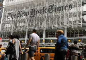 New York Times building / Getty Images