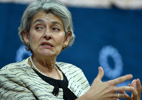 Irina Bokova, UNESCO / Getty Images