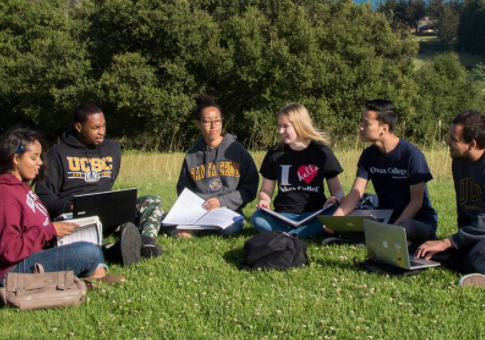 "Students at UC Santa Cruz, one of the universities that circulated the ""microaggressions"" list / Facebook"