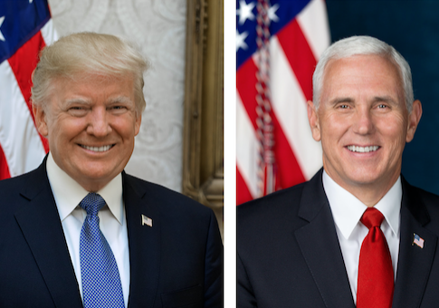 Portraits of President Donald Trump and Vice President Mike Pence / GPO