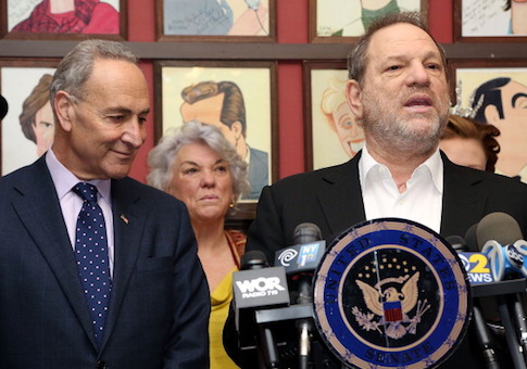 Sen. Chuck Schumer and Harvey Weinstein