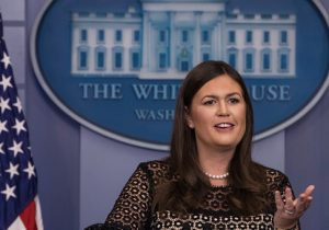 Sarah Huckabee Sanders / Getty Images