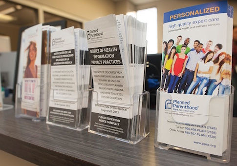 Planned Parenthood pamphlets