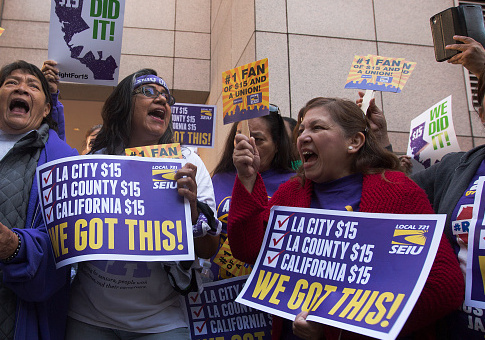 Analysis A 15 Minimum Wage Will Cost California 400 000 Jobs