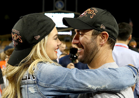 Justin Verlander and Kate Upton