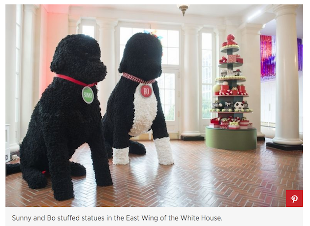 instead the magazine criticized melania for wearing an off the shoulder coat while decorating a christmas tree and piled on a - The White House Christmas Decorations 2017