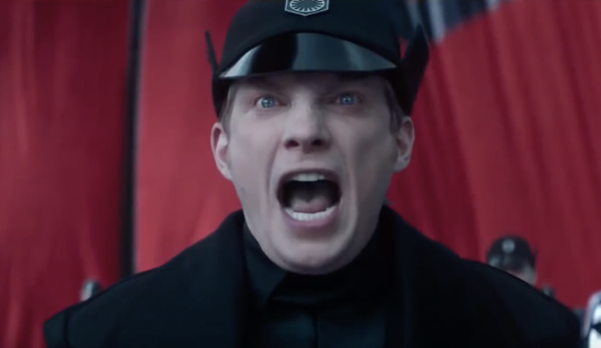 Image result for hux yelling""