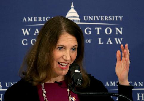 Sylvia Mathews Burwell, president of American University