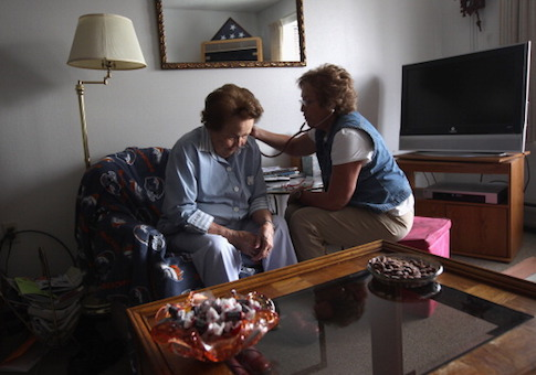 Home Health Provider Aids Needy As Supreme Court Debates Healthcare Reform Law