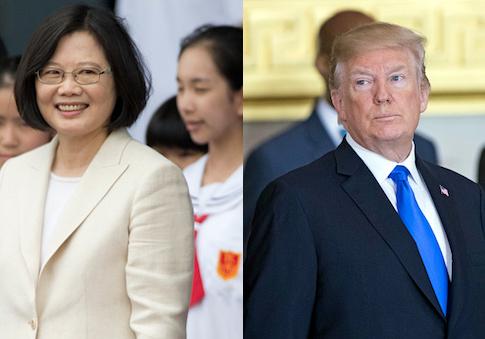 Tsai Ing-wen, Donald Trump