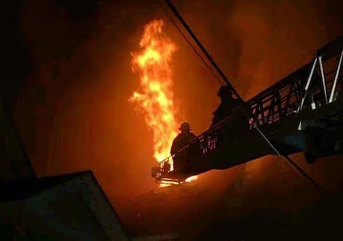 Photo courtesy of New Haven firefighters