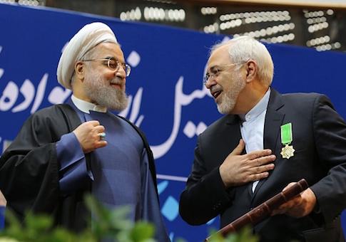 Hassan Rouhani Javad Zarif