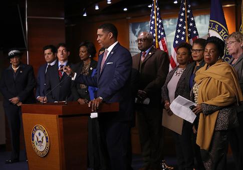 "Congressional Black Caucus Calls For Censure Of Trump's ""Racist"" Comments"