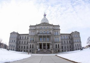 State Capitol Building in Lansing, Mich.