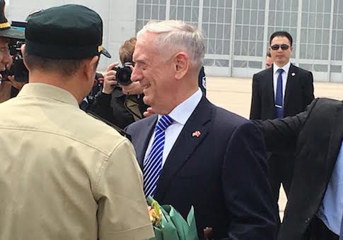 James Mattis in China