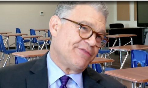 Franken on Running for Office Again: 'I Haven't Ruled It Out'
