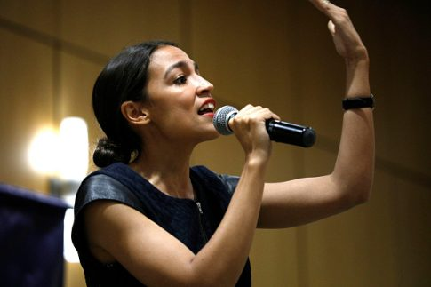 Ocasio-Cortez: We Must Use the Blue Print From Defeating the Nazis to Defeat Global Warming