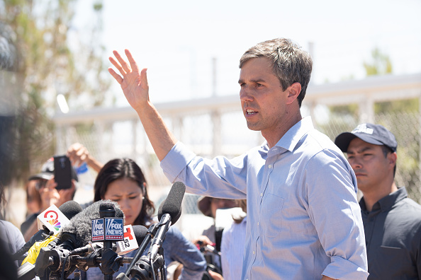 Top Story on 'Press' Section of O'Rourke's Website Is 'Vanity Fair' Story Hoping He Runs for President
