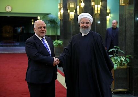Iraqi Prime Minister Haider al-Abadi in Iran