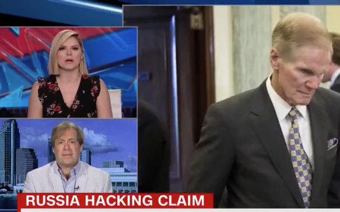photo image Florida Reporter: Nelson Has 'Little Bit of Egg on His Face' With Russian Hacking Claim