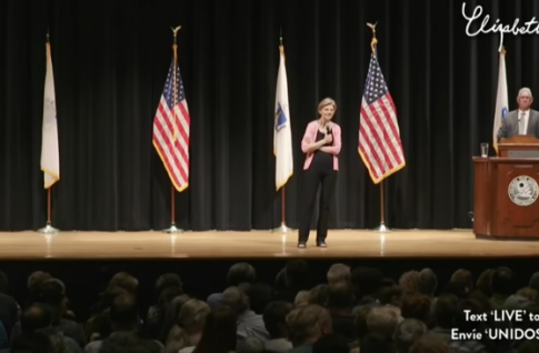 Warren Confronted at Town Hall for Calling U.S. Criminal Justice System 'Racist From Front to Back'