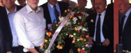 Corbyn wreath