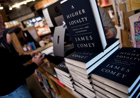 Comey book launch