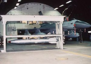 B61 in weapons storage