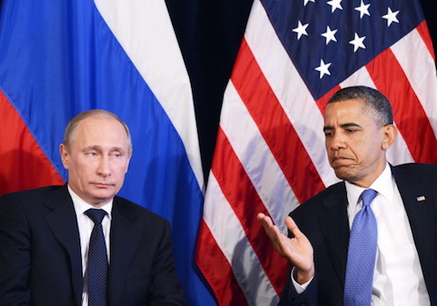 Vladimir Putin Barack Obama