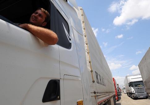 Iranian truck driver