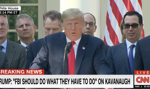 Trump: Democrats Questioning Kavanaugh Are 'Not Angels,' Media Is 'Loco'