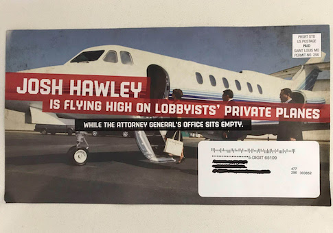 Hawley dark money target