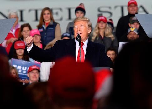 Donald Trump in West Virginia